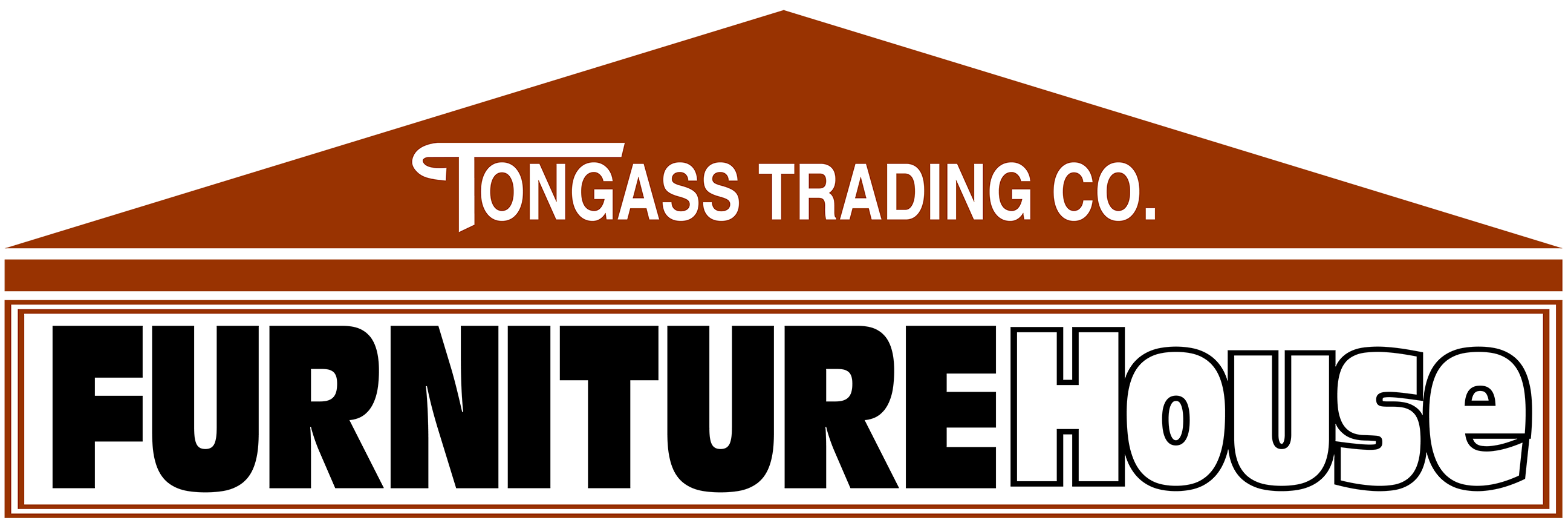 Tongass Trading Co. Furniture House Logo